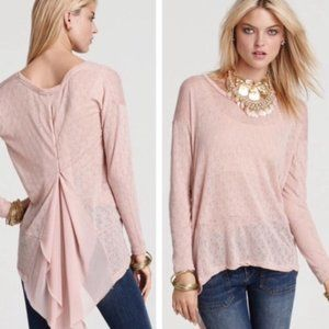 Free People New Romantics small peach tunic